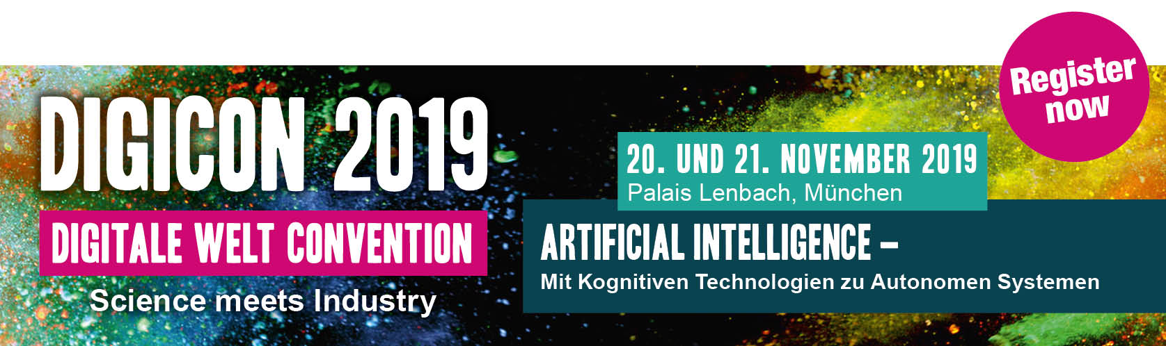 Digicon 2019 - Artificial Intelligence - With Cognitive Technologies to Autonomous Systems