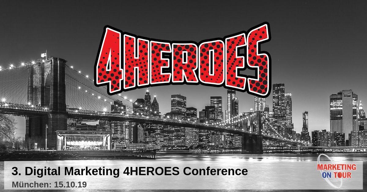 3. DIGITAL MARKETING 4HEROES Conference
