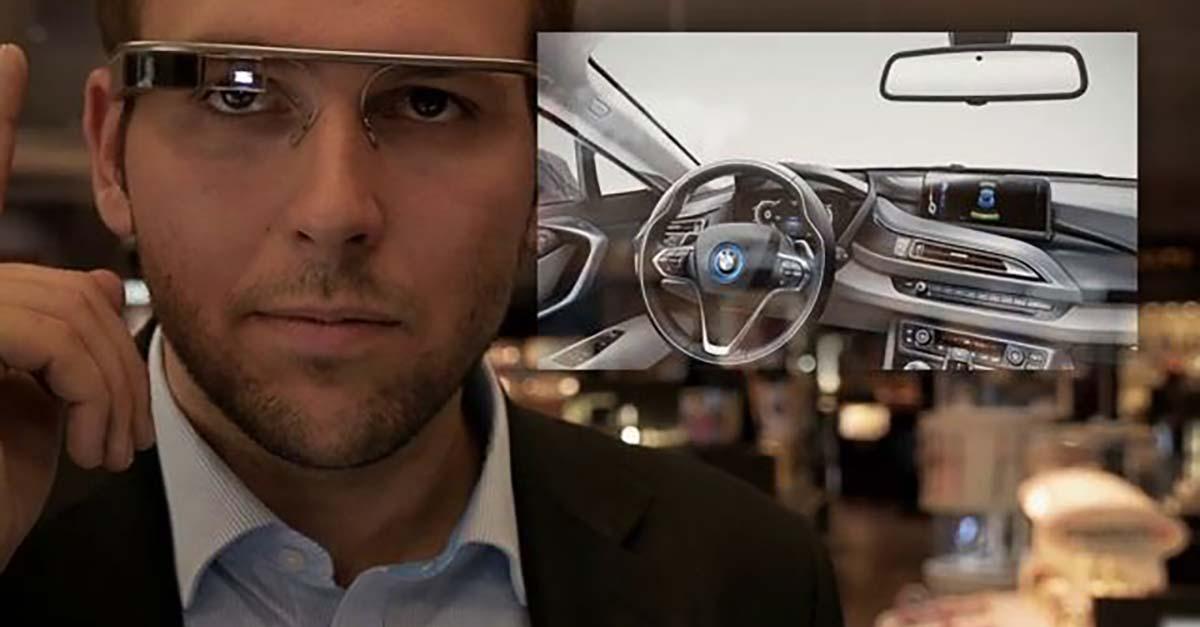 Visionäre Vertriebsanwendung mit Google Glass