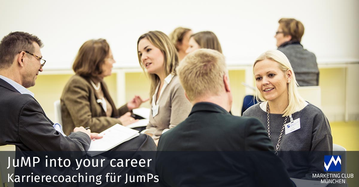 JuMP into your career: Karrierecoaching