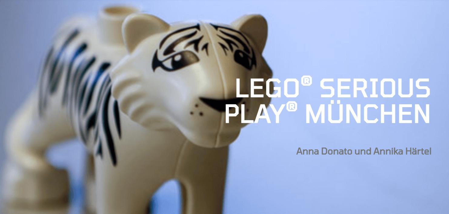 Online Stammtisch - LEGO® SERIOUS PLAY® mit Annika Härtel & Anna Donato