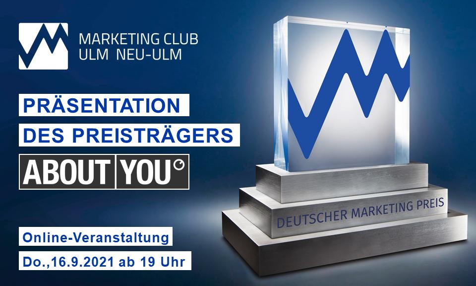 ABOUT YOU - Präsentation des Deutschen Marketing Preisträgers 2020