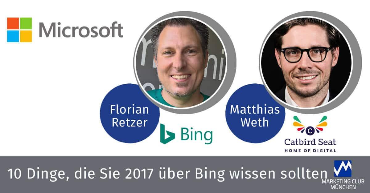 10 Dinge, die Sie 2017 über Bing wissen sollten