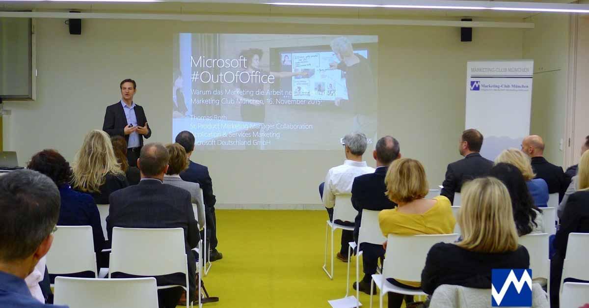 Microsoft: OutOfOffice - Warum das Marketing die Arbeit neu erfinden muss