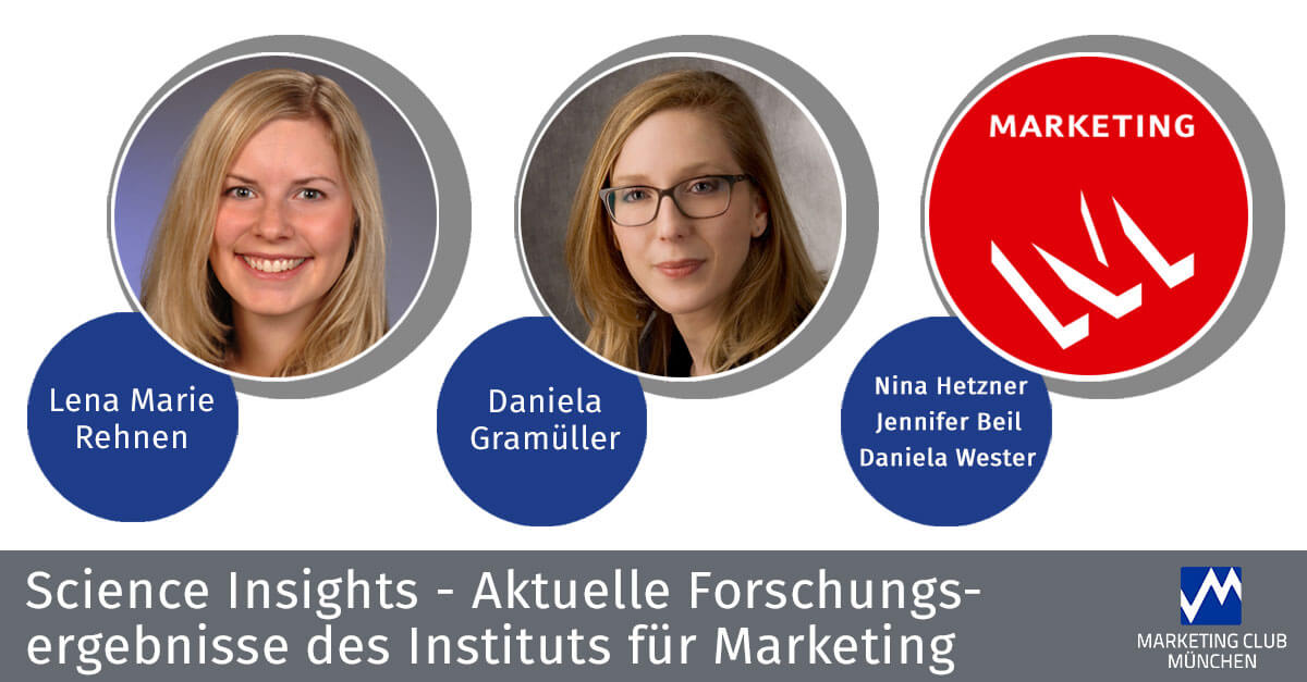 Science Insights 2016 – aktuelle Forschungsergebnisse des Instituts für Marketing der LMU