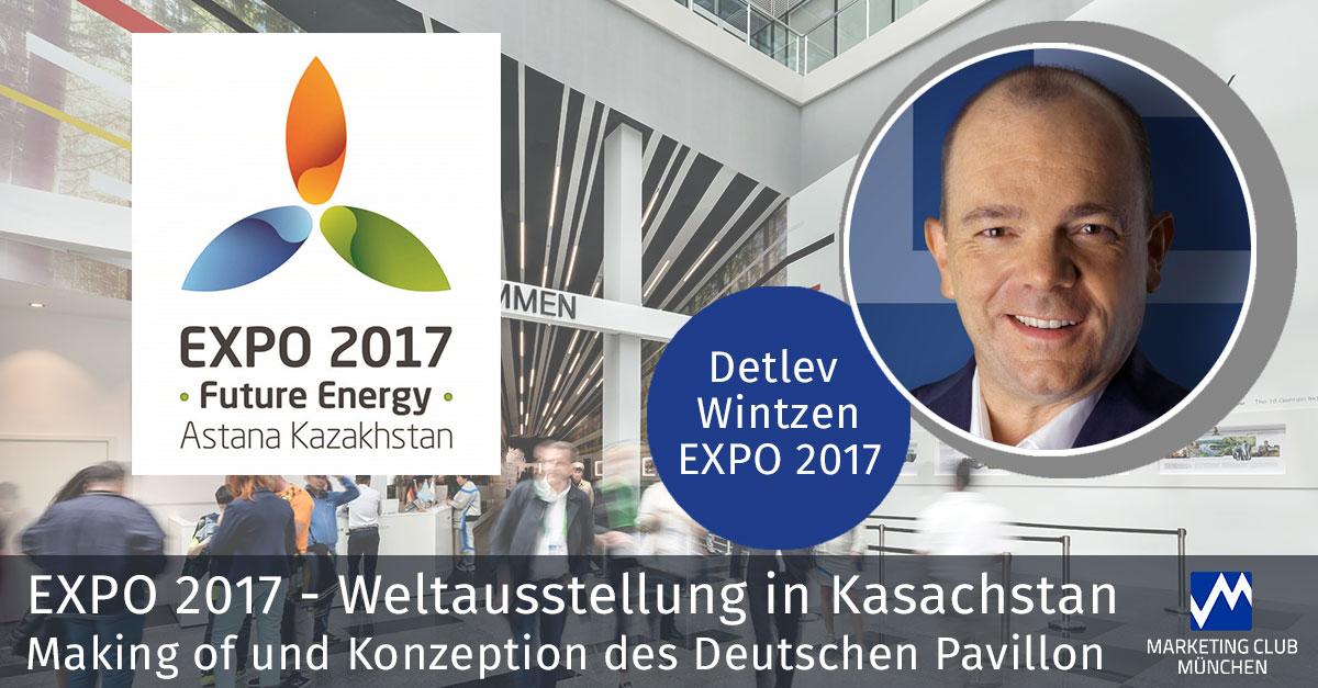 EXPO 2017 -  Weltausstellung in Kasachstan - Making of und Konzeption des Deutschen Pavillon