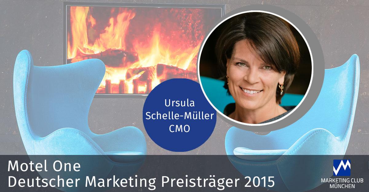 Motel One: Erfolgsgeschichte des Deutschen Marketing Preisträgers 2015