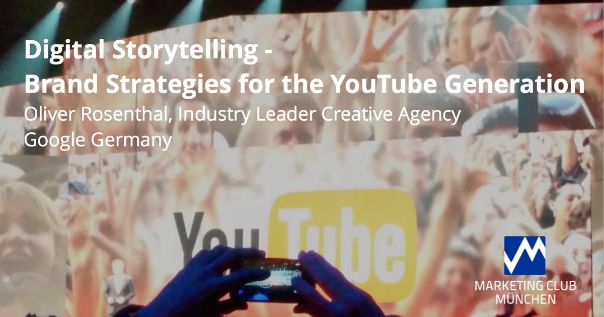 Digital Storytelling mit Youtube