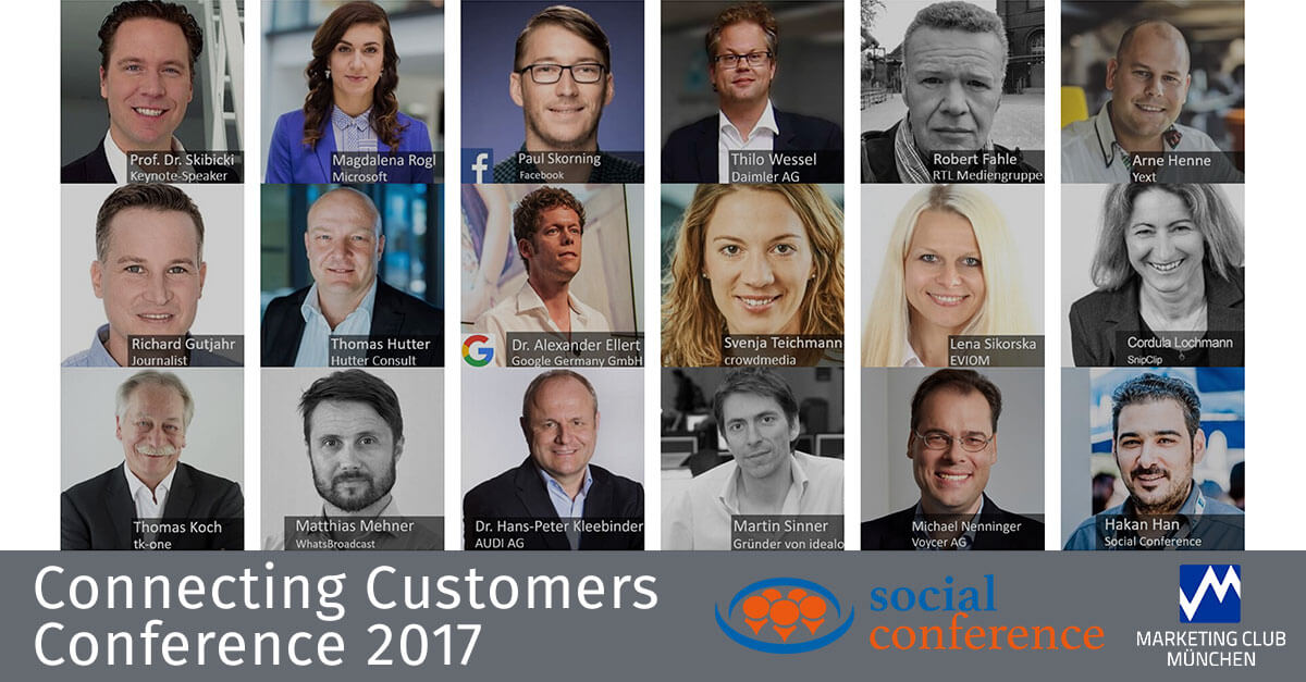Connecting Customers Conference 2017 - VIP Tickets