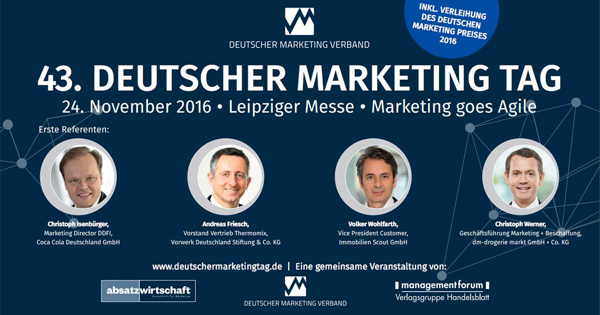 43. Deutscher Marketing Tag: Marketing goes Agile