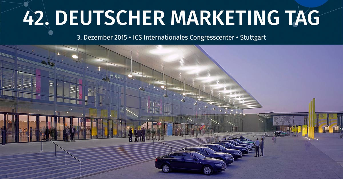 Deutscher Marketing Tag / Preis 2015 in Stuttgart