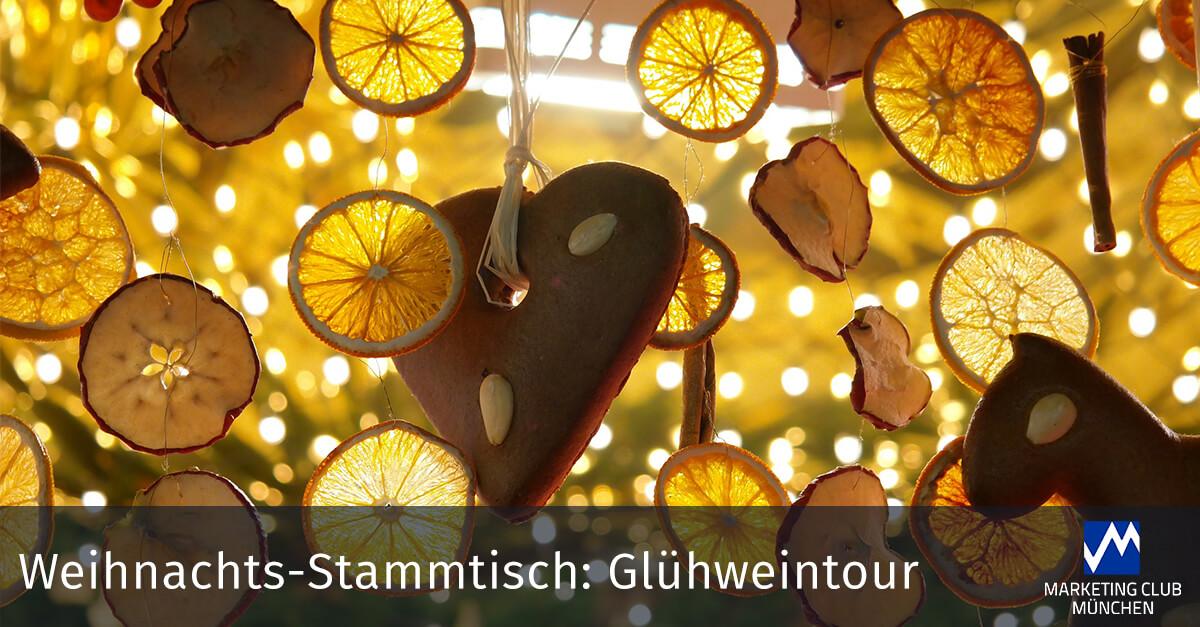 Weihnachts-Stammtisch: Wir gehen auf Glühweintour!