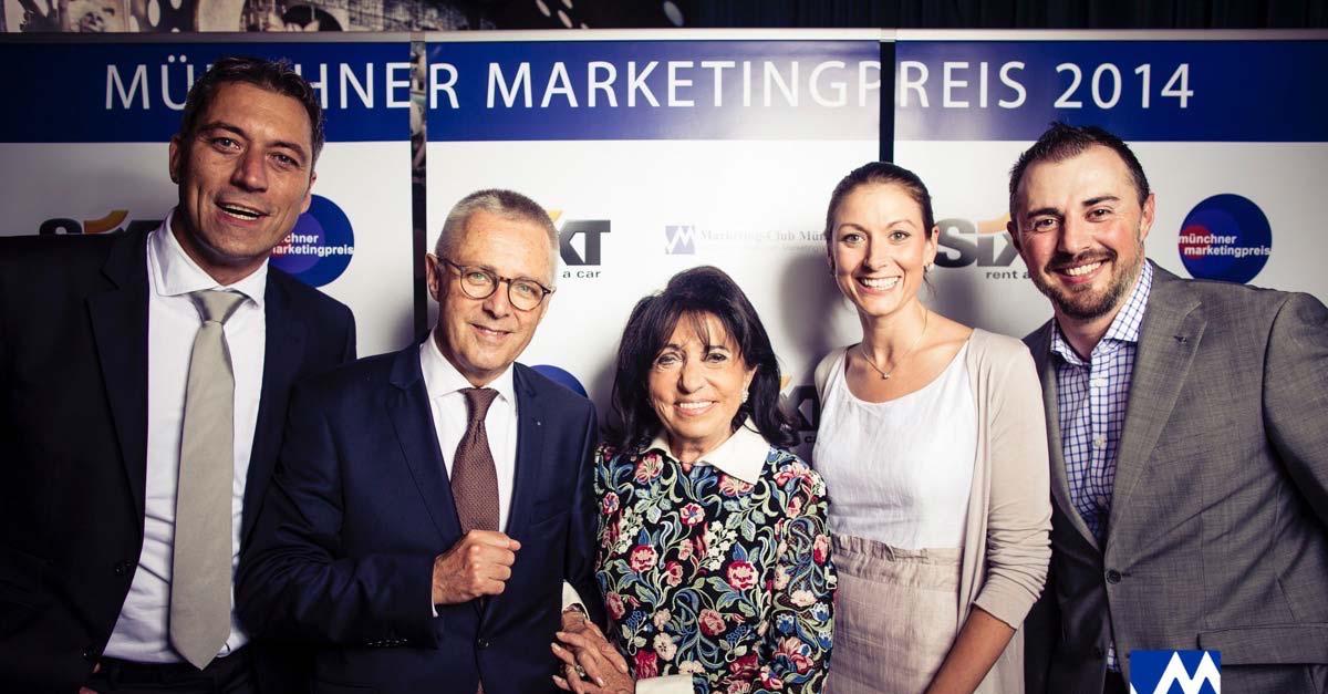Münchner Marketingpreis 2014: SIXT SE