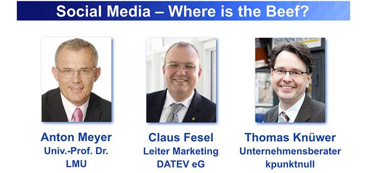 Social Media: Where is the Beef? Ein Phänomen zwischen Wissenschaft, Theorie und Praxis