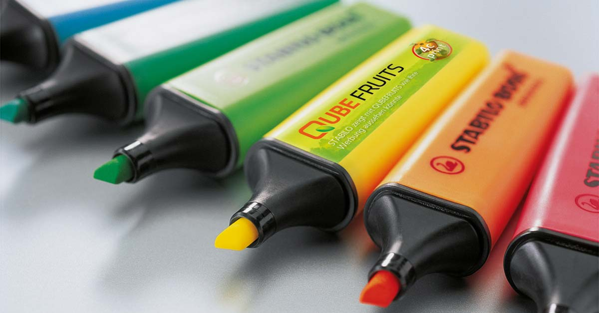 STABILO Promotion Products: Nischen finden! - Eine Marke auf Abwegen?