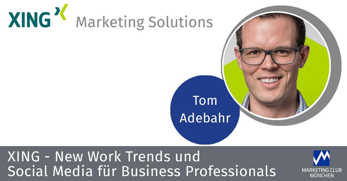 XING - New Work Trends und Social Media für Business Professionals