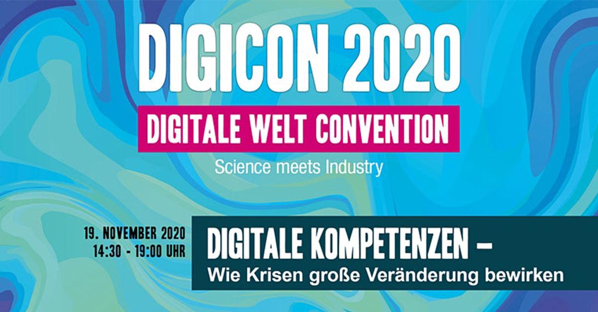 Digicon 2020: Wie Krisen große Veränderung bewirken