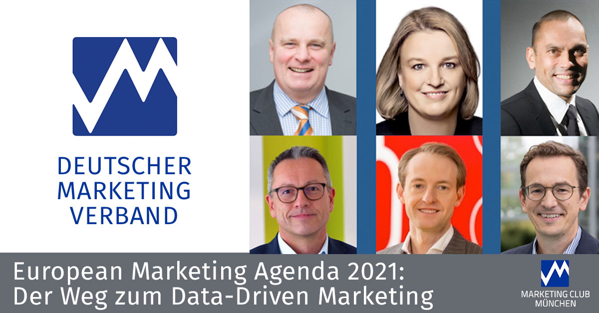 European Marketing Agenda 2021 / Der Weg zum Data-Driven Marketing