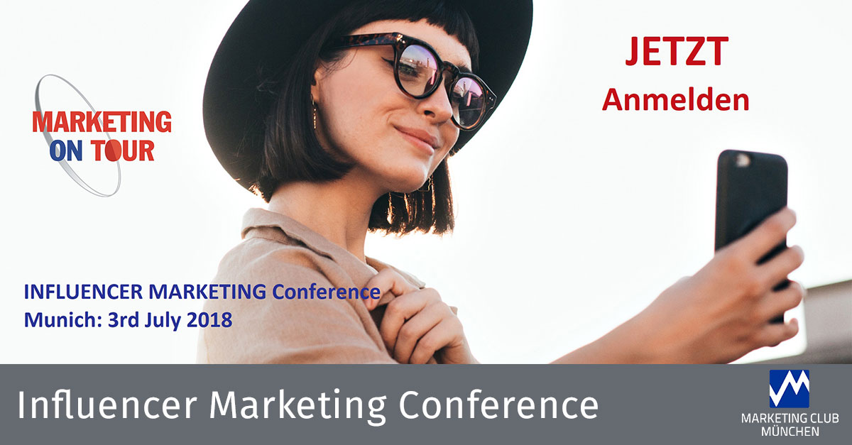 Influencer Marketing Conference - Ideen + Inspiration + Know-how