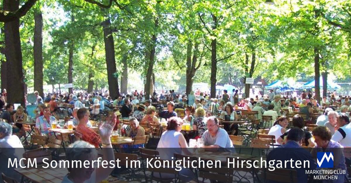 MCM Sommerfest im Königlichen Hirschgarten