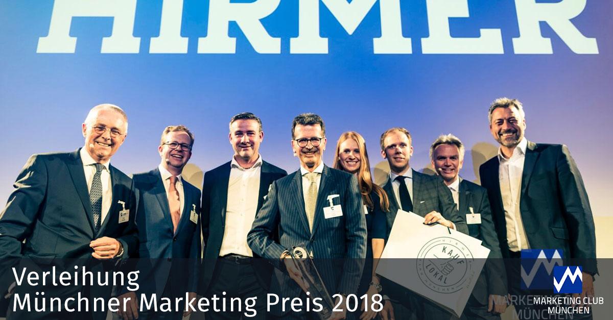 Münchner Marketingpreis 2018: Hirmer