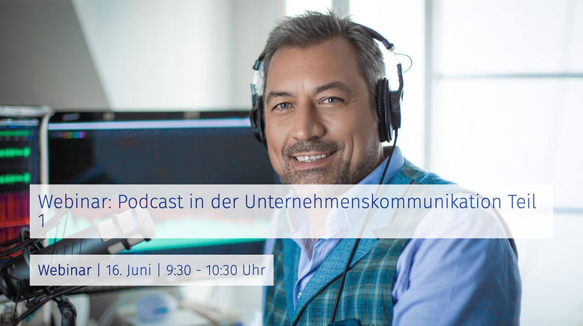 Webinar: Podcast in der Unternehmenskommunikation
