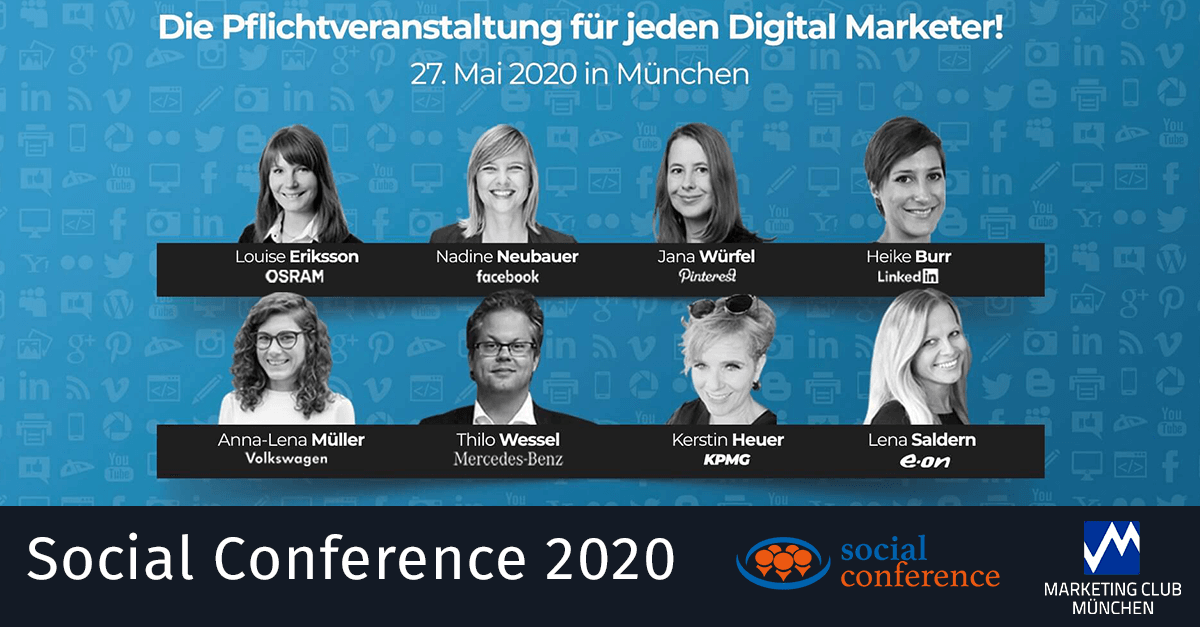 Social Conference 2020 ONLINE EVENT!