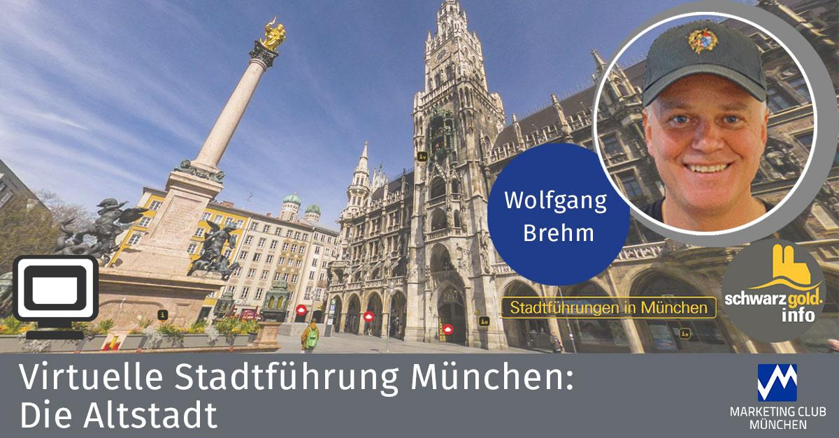 Geführte, virtuelle Stadtführung durch München – München live von zuhause