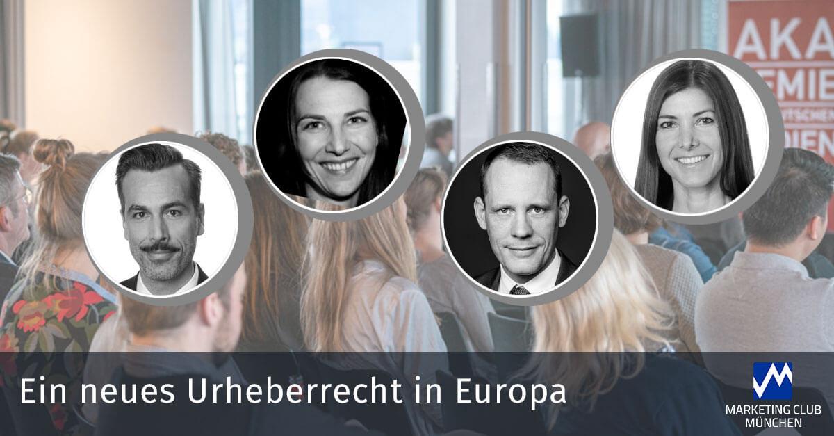 EIN NEUES URHEBERRECHT IN EUROPA - Plattformhaftung und mehr Geld für Urheber und Künstler?