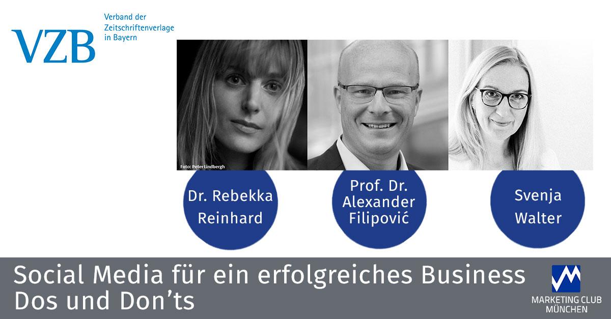 VZB-Kaminabend: Social Media für ein erfolgreiches Business - Dos & Don'ts