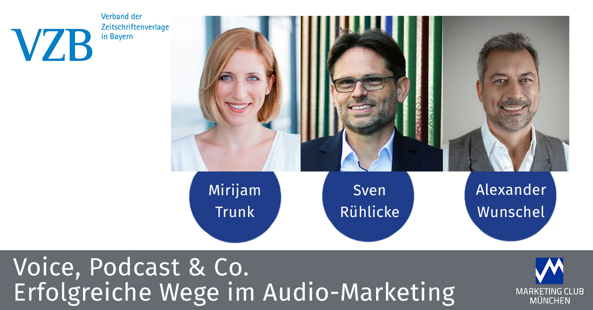 Voice, Podcast & Co. - Erfolgreiche Wege im Audio-Marketing