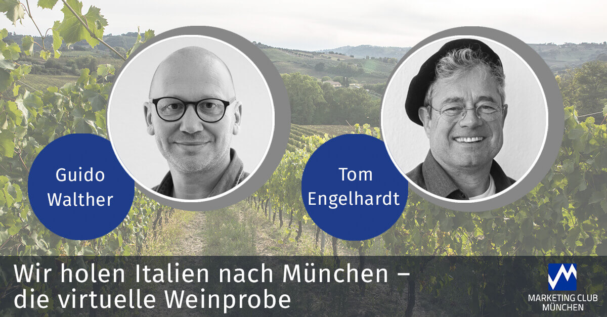 Virtuelle Weinprobe: Wir holen Italien nach München!