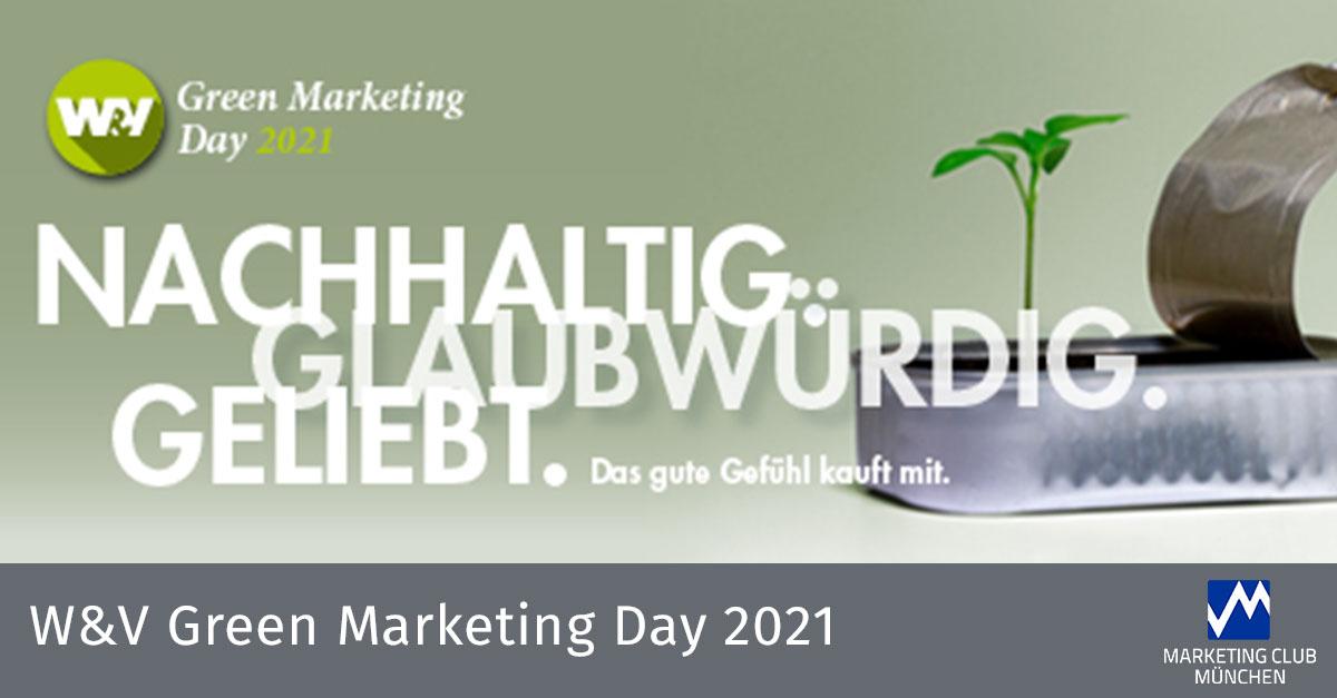 W&V Green Marketing Day 2021